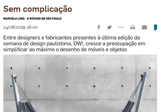 Clipping Emais Estadão
